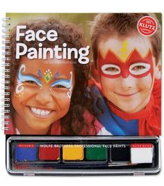 Klutz Face Painting Book Kit