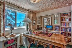 Looking Up - Howard Hughes's Former Summer Home on Lake Tahoe - Photos