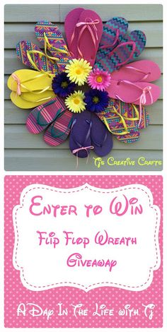Last Day to enter the Flip Flop Wreath Sweepstakes