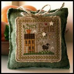Faith - Little Sheep Virtues by Little House Needleworks - own