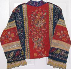 Russian embroidered blouse