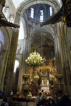 Cathedral of Santiago de Compostela - Spain - The Way of St. James is not PC - Sooner or later we are all pilgrims.