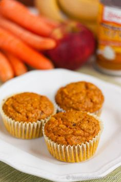 Magic Veggie Muffins | http://laurassweetspot.com