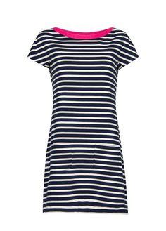 MANGO - Striped jersey dress