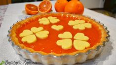 Tarta cu crema de portocale rosii, reteta tarta