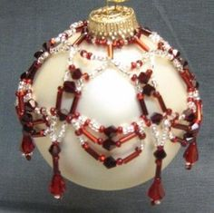 Free Beaded Victorian Ornaments Patterns | Holiday Beading - Beaded Ornaments and Free Bead Patterns for