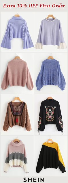 Hot sweaters Jackets For Women, Sweaters For Women, Clothes For Women, Winter Wardrobe Essentials, Latest Fashion Trends, Korean Fashion, Winter Fashion, Bell Sleeve Top, My Style