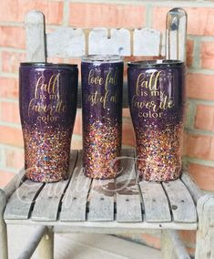 Your place to buy and sell all things handmade Diy Tumblers, Custom Tumblers, Acrylic Tumblers, Coffee Tumbler, Tumbler Cups, Glitter Tumblr, Glitter Jars, Tumbler Designs, Cup Design