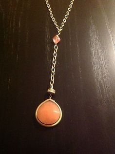 NWT-Ann Taylor LOFT Gold-Tone Long Necklace