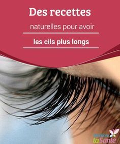 Natural recipes to have longer eyelashes With time, the eyelashes … – All About Hairstyles Beauty Tips For Face, Beauty Box, Beauty Secrets, Beauty Care, Beauty Makeup, Beauty Hacks, Hair Beauty, Face Skin Care, Diy Skin Care