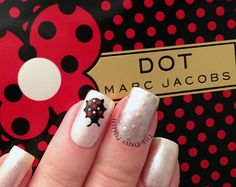 Marc Jacobs Dot Nail #MARCtheDOT #DotGirlsCocktailHour #Crowdtap