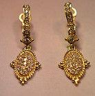 Judith Ripka Diamond Earrings - Diamond, Earrings., Judith, Ripka - http://designerjewelrygalleria.com/judith-ripka/judith-ripka-earrings/judith-ripka-diamond-earrings-4/
