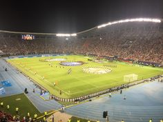 The inaugural game of the European season, the UEFA Super Cup, saw us slope off to Skopje, Macedonia, to face Real Madrid. Uefa Super Cup, Macedonia, Baseball Field, Real Madrid, The Unit, Fruit Salad