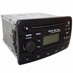 Ford 6000CD car stereo head unit cd player RDS radio OEM + security code 6000 CD #FORD