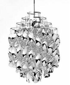 Verner Pantons spirak lampe. Super flot og meget elegant.
