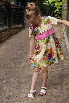 Oliver + S Library Dress | Flickr - Photo Sharing!
