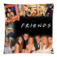 Friends TV Show Merchandise Pillowcase Pillow Protectors Custom Zippered Pillow Case Size: 20'x20' Two Sides Pillow Encasement -- Quickly view this special deal, click the image : Decorative Pillows
