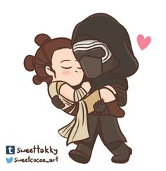 Reylo moment walk cycle:3 the art is now colored