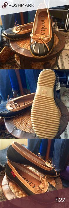 ☔️Chooka Rain Skimmers BNWOT Chooka rain shoes. Get ready for back to school!! Chooka Shoes Winter & Rain Boots