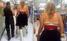 flat back boobs funny pictures of people at walmart