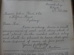Beautiful beautiful handwriting!!!