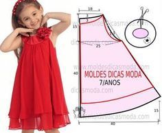 Aquí unos cuantos patrones para vestidos infantiles y algo mas…..Espero que alguno sea de tu gusto. Patrones y fotografias viamoldesdicasmoda.com