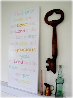 Blessing of Aaron- Christian Wall Decor