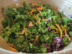 simple kale salad that makes me swoon