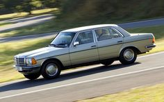 Paul Hudson gets behind the wheel of a 27-year-old Mercedes-Benz W123 saloon   that's in near-showroom condition.