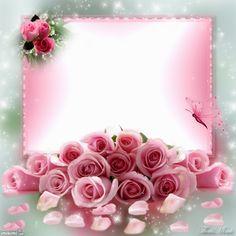 Kimi template created by ThatsMimi. Photo Frame Wallpaper, Best Flower Wallpaper, Royal Wallpaper, Bow Wallpaper, Flower Background Wallpaper, Pink Wallpaper Iphone, Rose Frame, Flower Frame, Cartoon Drawing For Kids