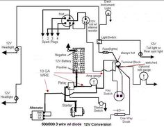 Ford 861 12 Volt Wiring Diagram - Wiring Diagram