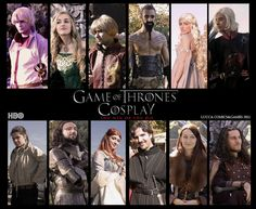 Game of Thrones - Cast cosplay by Elisa-Erian.deviantart.com