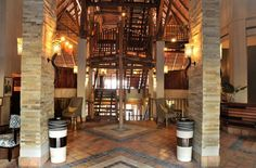 Victoria Falls Safari Lodge reception