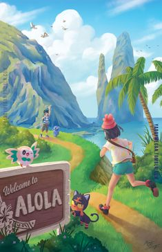 Pokémon - Welcome to Alola
