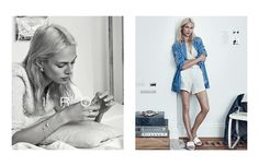 French fashion brand IRO has tapped model and actress Aymeline Valade as the face of its spring-summer 2015 campaign. The images were captured by Lachlan Bailey and feature the blonde in what looks like a domestic setting wearing the label's jewelry designs, casual separates and leather pieces. In previous seasons, IRO has featured models like Karlie Kloss, Magdalena ...