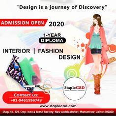 Interior And Fashion Design Course In Jaipur In 2020 Diploma In Fashion Designing Design Course Fashion Design