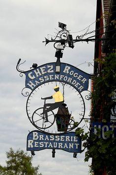 Chez Roger Hassenforder Brasserie Restaurant ~ Kaysersberg, France