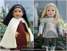 Want a Great Gift that will Inspire Children to Become Saints. http://www.DollsfromHeaven.com  #Catholic #Dolls