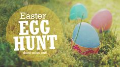 SAVE THE DATE! Mark your calendars for our annual Community Family Easter Egg Hunt on Saturday, March 30th at 10:00 AM! More details are still to come!
