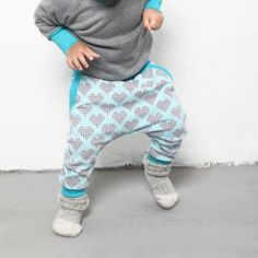 Hearts & pants | organic cotton | SHOWROOM Kids
