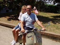 Un giro in Vespa