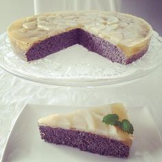 Hruskovo makova torta