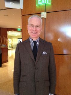 Look who we spotted in the Hotel Lobby wishing us luck on our After Oscar® Show this Monday! Tim Gunn!!