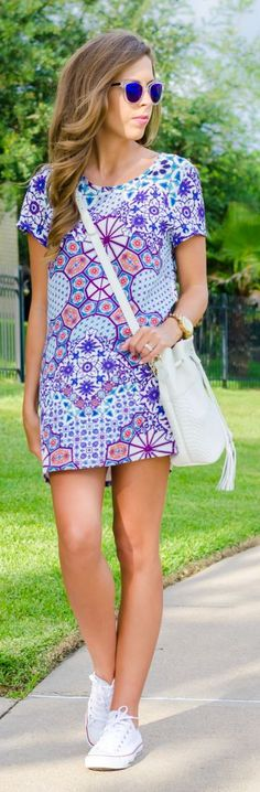 Casual Dress Summer Style by For The Love Of Fancy