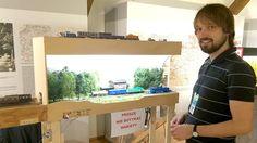 Makiet w Olsztynie w Centrum Techniki i Rozwoju Regionu, Muzeum Nowoczesnosci w dniach 11-13 wrzesnia 2015 r. - ein kleiner Endbahnhof irgendwo in Polen von Alexander Pesch - Foto: Foto: Volker Seidel