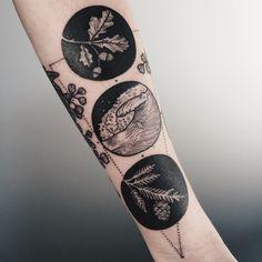 By Pony Reinhardt at Tenderfoot Studio in Portland #tattoo