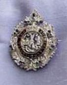 From Her Majesty's Jewel Vault: The Argyll and Sutherland Highlanders Badge