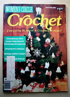 Women's Circle Crochet Winter 1981 vintage by baldyhillhomemade, $5.00