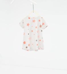 Image 1 of Polka dot and stars T-shirt from Zara