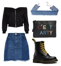 """Untitled #273"" by ninaellie on Polyvore featuring Dr. Martens and Sam Edelman"